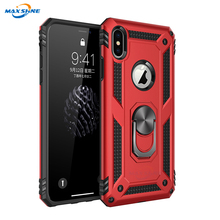 Maxshine Tpu Pc Case 대 한 Iphone X Xr Xs Case Shockproof, magnetic Case 대 한 Samsung 주 8 9 폰 Cover