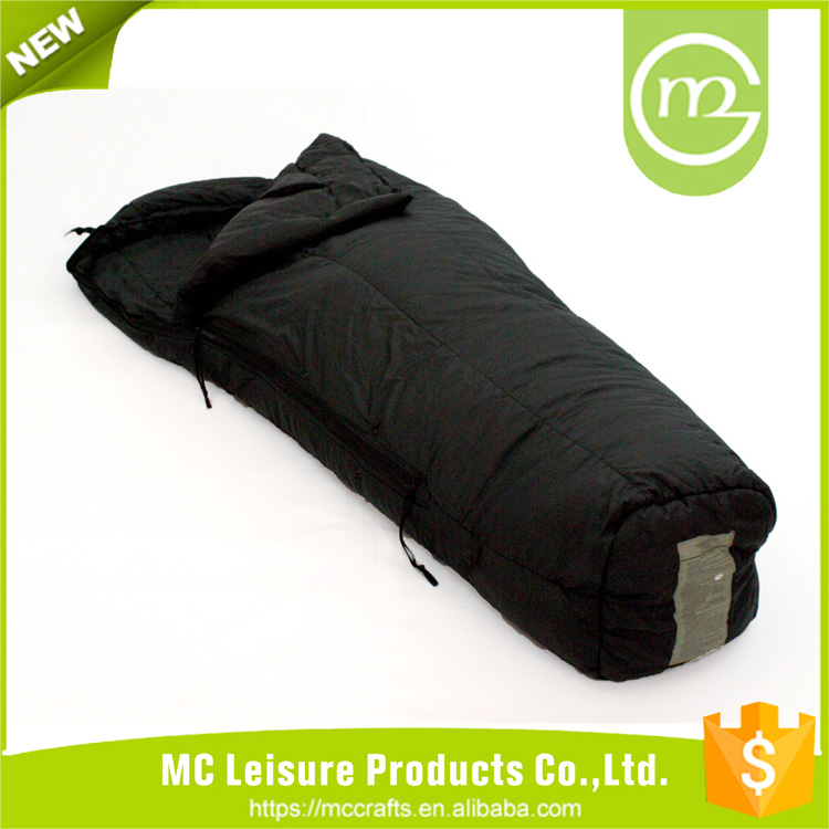 Promotional top quality extreme cold weather sleeping bag