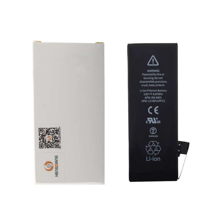 Factory Wholesale High Quality 1440mAh Battery For iPhone 5