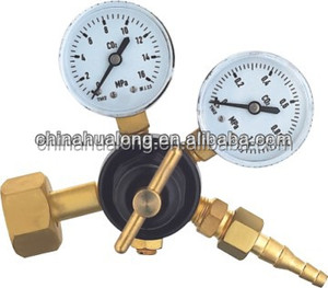 two-gauge CO2 regulator