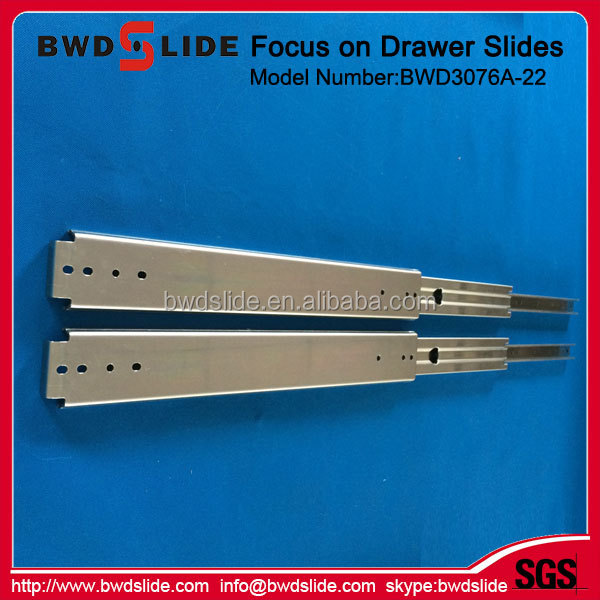 BWD3076A-22 sliding door rail/slide for table extension/kitchen cabinet drawer slide parts