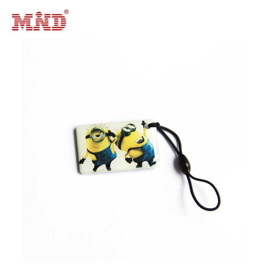 Promotional plastic key tags/crystal key card/expoxy card