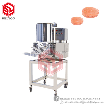 Electric customized shape automatic hamburger patty form machine meat pie patty for burger