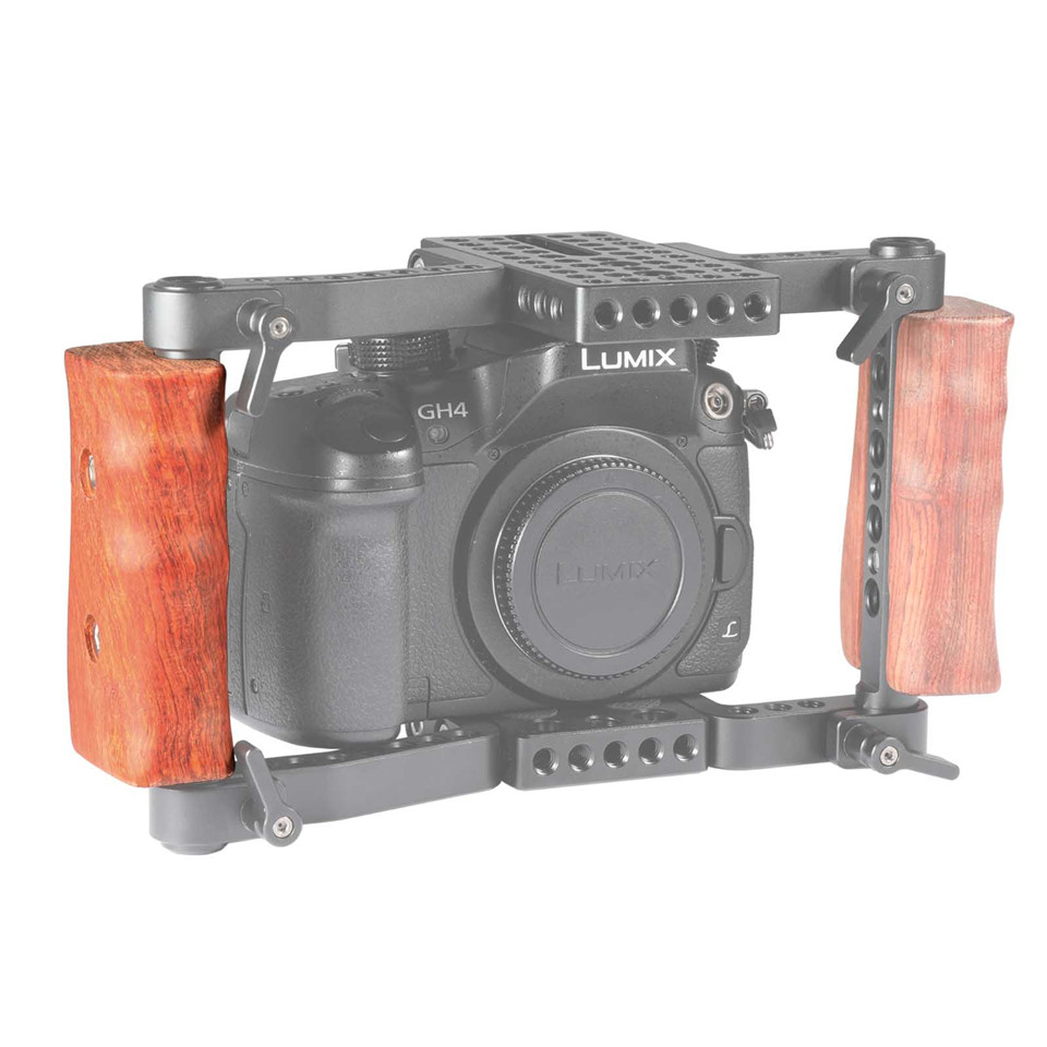 SmallRig Solid Handheld Gimbal Wooden Camera Cage Kit For Canon