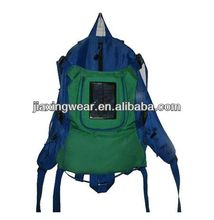 Fashion solar rechargeable bag for travelling for outdoor emergency charge