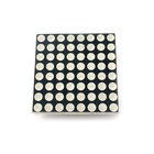 3mm 8x8 dot matrix module Red and Green CC or CA Digital tube display 32*32mm LED