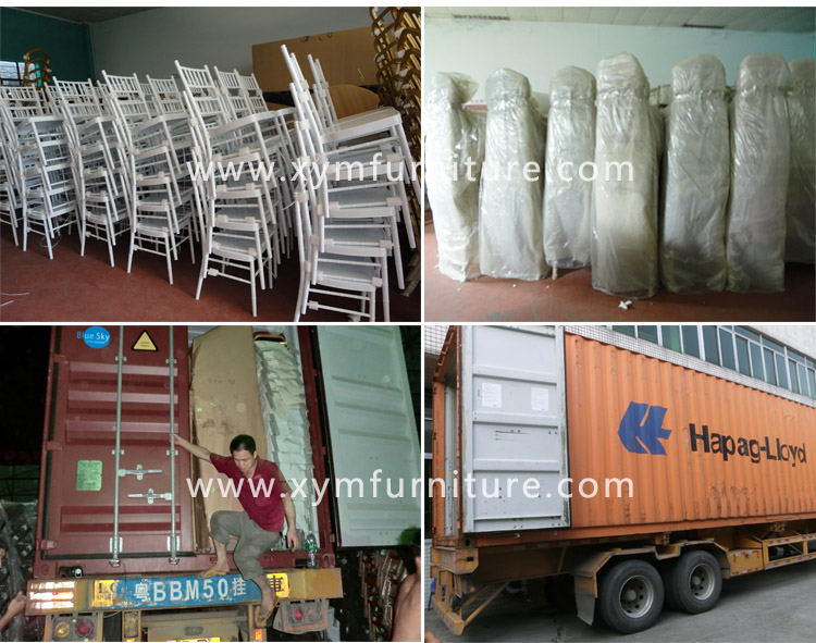 Wholesale metal chiavari chairs with cushion for sale for wedding