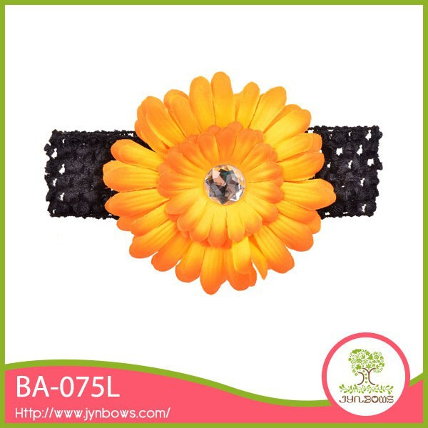 Cute Baby Girls Chrysanthemum Hair Bands for Babies