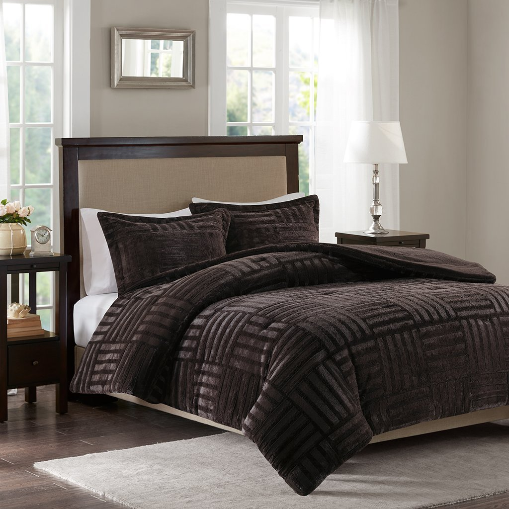 sherpa and set reversible fashions comforter cathay amazon dp home kitchen faux com ivory piece queen fur