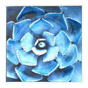 Canvas Hand Painted Modern Abstract Flower Wall Art Picture For Home