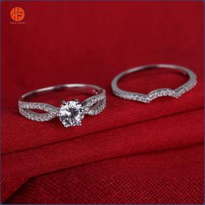 Female Engagement Ring Designs Gold Ring for Women Wholesale 2016 Latest Fashion Silver Rings Jewelry