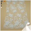 Wholesale hand made sequin mesh embroidery bridal lace fabric DH-BF724