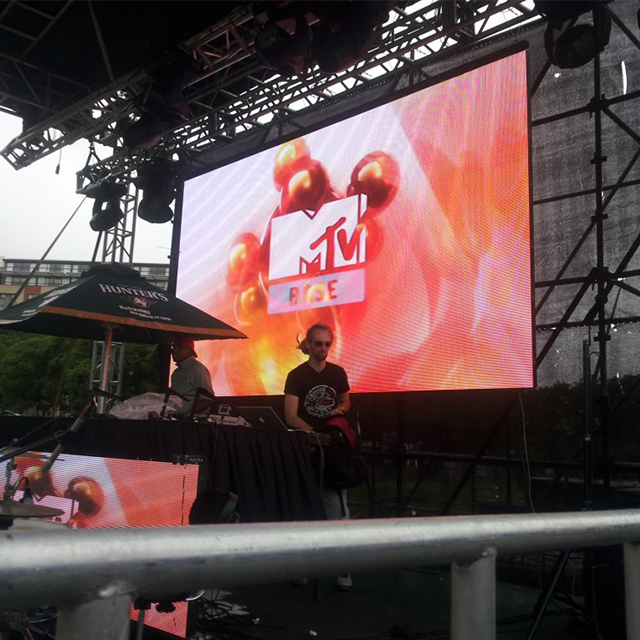 3 years warranty P6mm stage events for advertising screen video outdoor fullcolor electronic led display screen outdoor