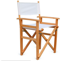 outdoor camping portable folding wooden chair