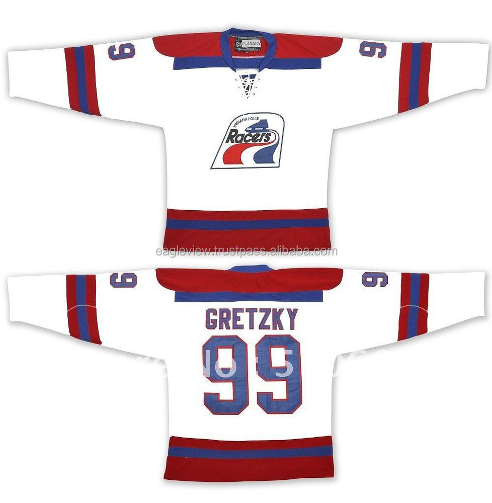 buy online 79a82 b7ab4 Wholesale Jersey Wayne Gretzky 99 Indianapolis Racers Vintage Font B  Wha-b-font-ice-font-b - Buy Ice Hocky Jersy,Turk Adult,Trikot Product on ...