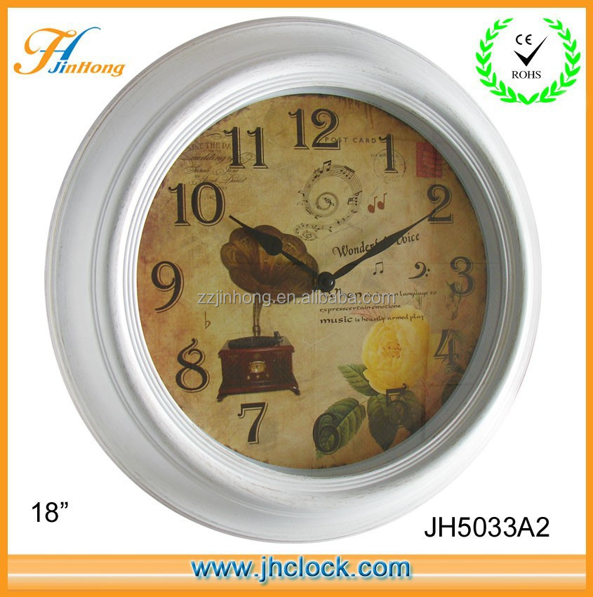 Old Fashion Musical Instrument Wall Clock Buy Old Fashion Wall