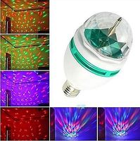 Auto DJ Disco Ball Lighting Led Party ball Lamp 3W Colorful Stage bulb For Magic Rotating Crystal Light