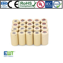 7.2v 300mah ni-cd battery pack for flash light ,electric device,emergency lighting christmas lights