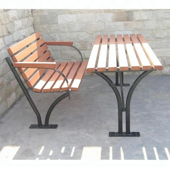 Rectangular Outdoor Table And Bench Wooden Outdoor Table With One