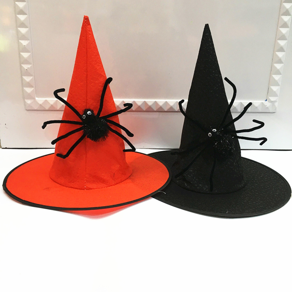 d489d63dc Halloween Costume Party Hat Spider Non-woven Wizard Hat Cosplay Props Witch  Hat - Buy Halloween Props,Halloween Makeup,Halloween Party Decoration ...