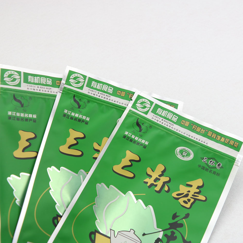 Manufacturer Supplier stand up custom designed tea bags compound plastic bag coffee/tea