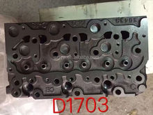 engine cylinder head for kubota D1703,auto parts