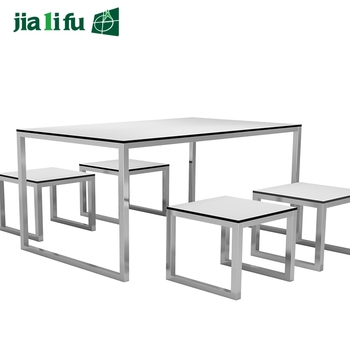 JIALIFU HPL Outdoor Party Table And Chairs For U0026quot;Family ...
