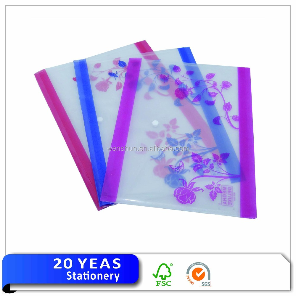 File Folder Hospitable Brief Style Striped Transparent A5 A4file Folder File Bag Document Bags Office Stationery Useful Filing Production Filing Products