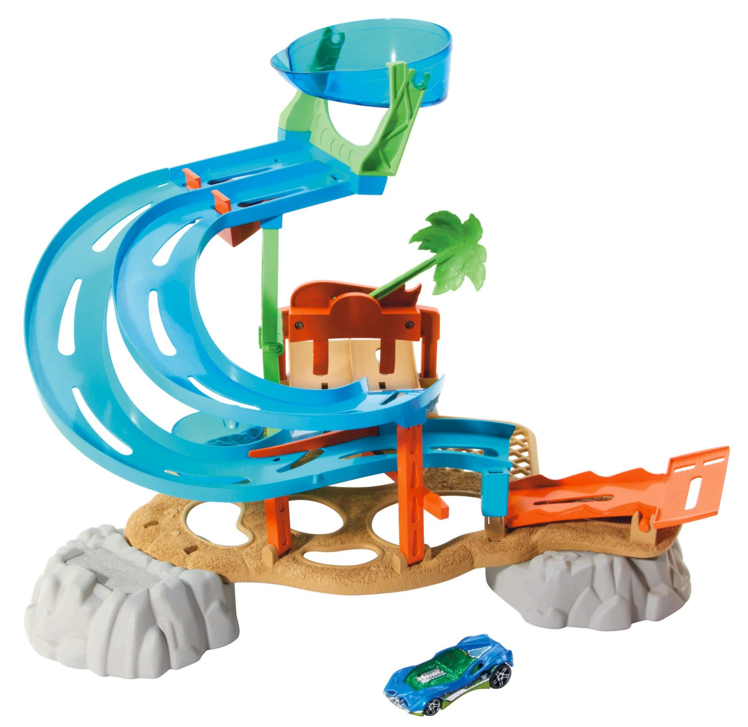 Hot Wheels Race Rally Water Park Playset