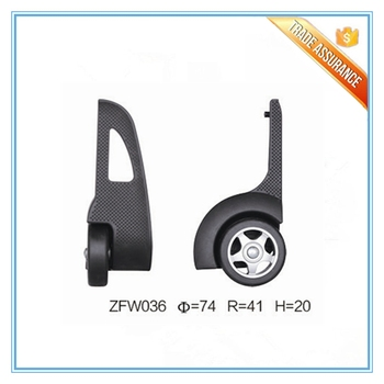 Best Price Detachable Trolley Wheels For Leather Carry On Duffel Bag