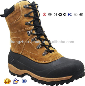 "Trendy Snow Boot Mens 10"" KHK Thinsulate Winter Boots"