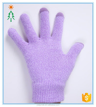 2017 knit fashion hot winter lady factory winter custom gloves for touch screen