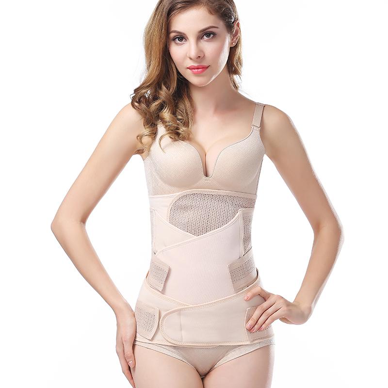 3 in 1 after pregnancy belt recovery waist pelvis belt shapewear post delivery belt фото