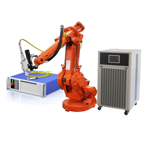 3D automatic robot fiber laser cutting machine/metal robot laser welding