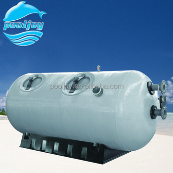 Horizontal Commercial Sand Filter For Commercial Pool And