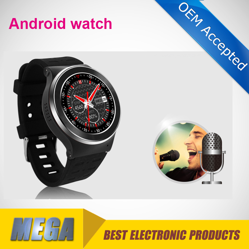 Android smart watch phone wifi gps bluetooth 1gb ram 8gb flash