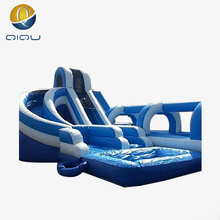 Simple design water boat slide low prices fiberglass giant inflatable