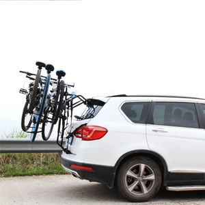 Steel Rear Mounting Bike Carrier Car Bicycle Rack for 3 Bikes