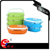 Square Shape Stainless Steel Lunch Box/Food Container