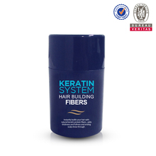 Natural keratin leave-in formula building instantly growth hair fiber