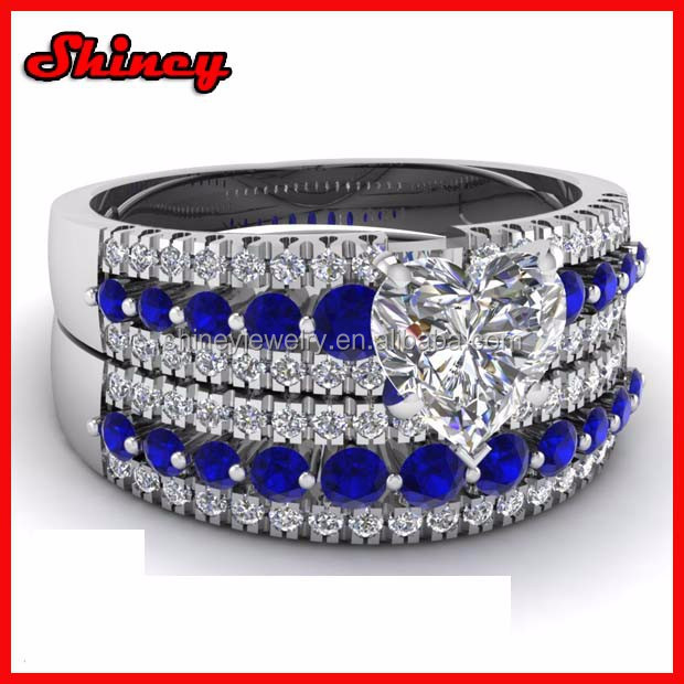 2014 high quality 925 sterling silver 3.22 carat accent diamond yiwu imitation jewellery