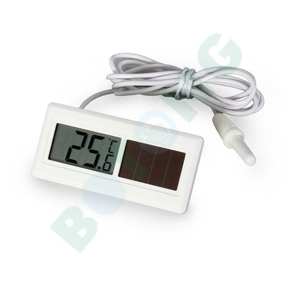 Con energía Solar LCD termómetro - 50 grados Celsius a 150 ...