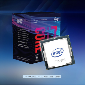 Intel Core 8 Series Processor I7 8700k for 1151 socket Motherboard