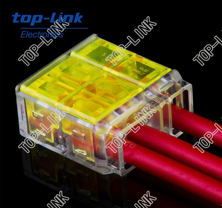 compact connector 3-conductor terminal block, no stripping