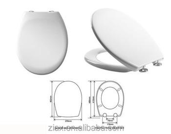 Stupendous Quick Release Thermoset Top Fix Plastic Toilet Seat With Soft Close Hinges View Toilet Seat Oem Product Details From Xiamen Ziax Sanitaryware And Inzonedesignstudio Interior Chair Design Inzonedesignstudiocom