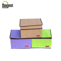 China High Quality Custom Printed Non Woven Storage Box