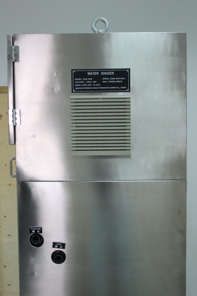 2000L/H Industrial and Commercial Water Ionizer for bottling water factory