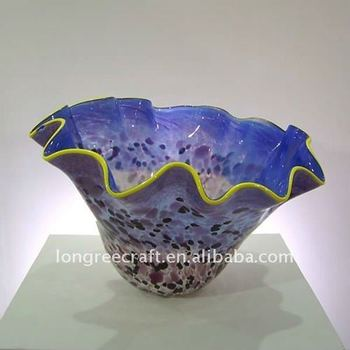 Murano Glass Bowl in Multicolor-LRT135