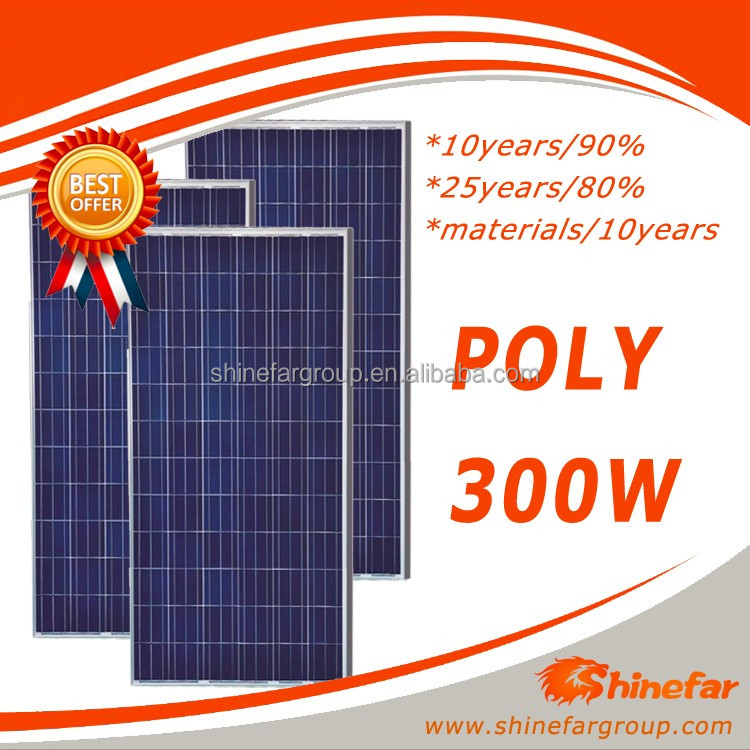 poly 300W for solar panel products livarno lux led