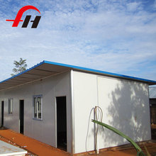 Chinese Exporter small steel frame villa sip living prefabricated house wall panels